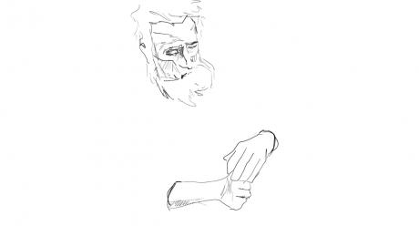 Spoon Man Sketch