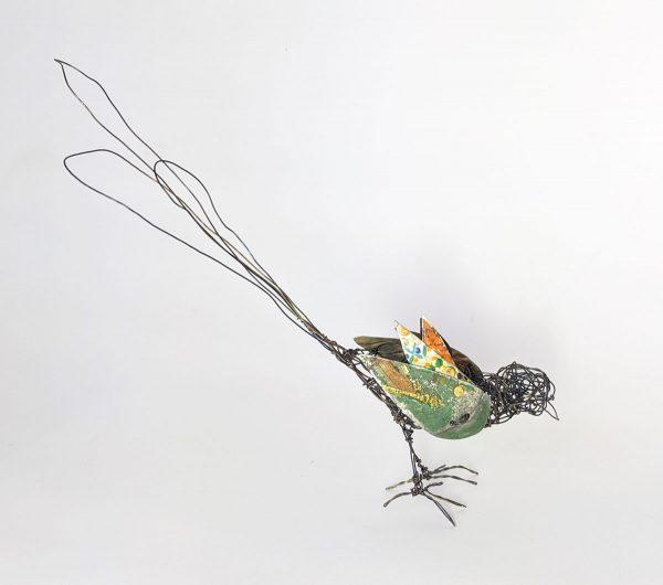wire bird by ingrid k brooker