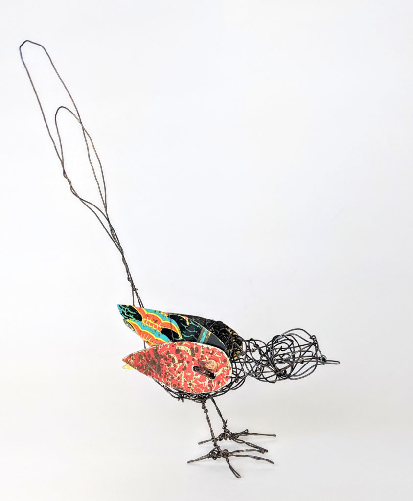 wire birds by ingrid k brooker