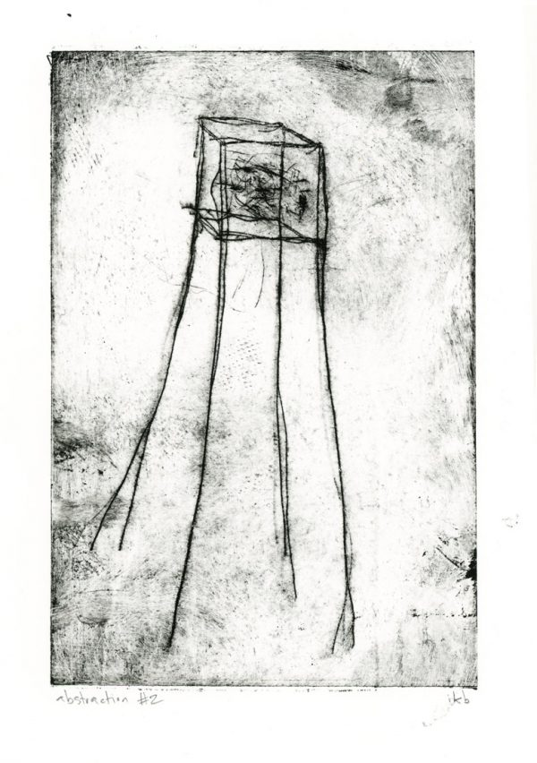 Abstract etching of tower